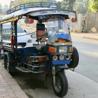 Общественный транспорт Лаоса :: Елена