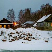 зимний вечер :: Сергей Кочнев