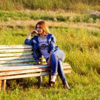 Задумчивая Анастасия :: Alena Kazanceva