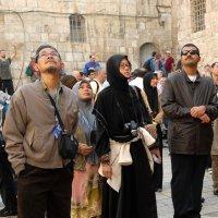 Иерусалим. Храм Гроба Господня. Атриум. :: Надя Кушнир