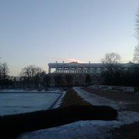 Закат в Екатерининском парке :: Сапсан