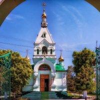 Свято-Троицкий Храм на Кривой Балке. :: Вахтанг Хантадзе