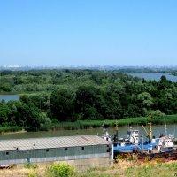Азов. Вид с Крепостного вала :: Нина Бутко