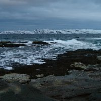 Баренцево море 5 - холодный прибой :: Galina