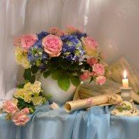 Ах, эти розы, их живая роскошь... :: Валентина Колова