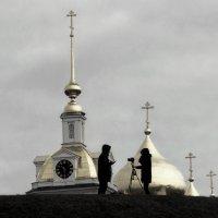 Фотосессия на фоне куполов. :: Анатолий. Chesnavik.