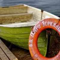 лодка на базе отдыха оз. Зеркальное :: Даниил pri (DAROF@P) pri