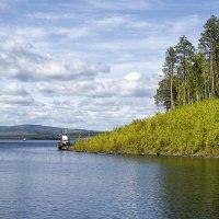 На Богучанском водохранилище :: Сергей Черных