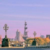Москва. Вид от храма Христа Спасителя. :: В и т а л и й .... Л а б з о'в