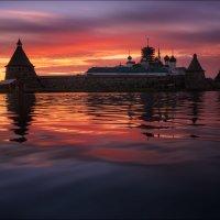 Закат на Святом озере :: Влад Соколовский