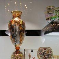 На выставке стекла. :: Татьяна Манн