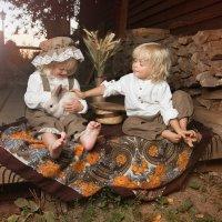 Блондины с кроликом :: Маша Сашина