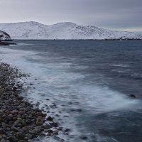 Баренцево море 6 - холодный прибой :: Galina