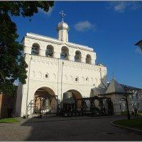 Звонница Софийского собора в Кремле Новгорода :: Вера