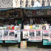Лавочки букинистов в Париже :: Фотограф в Париже, Франции Наталья Ильина