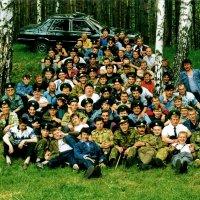 Пограничное братство...28 мая 1996 года :: Николай Варламов