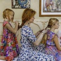 мама и дочки :: Мария Корнилова