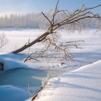 В ледяном плену :: Любовь Потеряхина