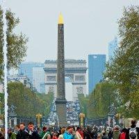 вид на Триумфальную арку :: Александр Корчемный