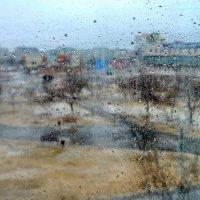 Дождь за окном :: Анатолий Чикчирный