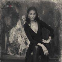 Елена Бызова в галерее Артконстантис :: Борис Соловьев