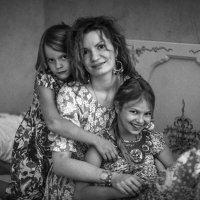 мама девочек :: Мария Корнилова