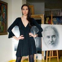 На фоне автопортрета :: Борис Соловьев