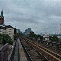 Гамбург. Порт :: Nina Yudicheva