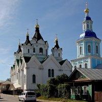Смоленский и Рождественский храмы. Арзамас :: MILAV V