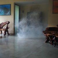 когда выходит ..дым :: Александр