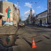 На улице Благовещенской :: Лидия Цапко