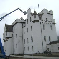 Шотландский замок Блэр прихорашивается :: Марина Домосилецкая