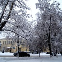 Зимний город :: Елена Семигина