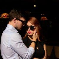 Алина и Кирилл в Ресторане Шамони Монблан :: Кристина Милославская