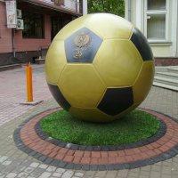 Символический   мяч   в   Ивано - Франковске :: Андрей  Васильевич Коляскин