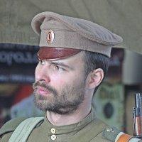 """""""Машина времени"""" Профиль  Русского  воина 1914  года. :: Виталий Селиванов"""