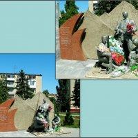 Азов. Памятник воинам-интернационалистам :: Нина Бутко