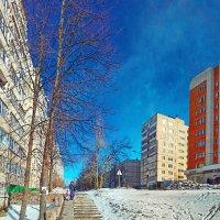 Спальный район. Март. :: Михаил Николаев