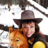 Охотница с карельскими лайками, 3 :: Kostas Slivskis