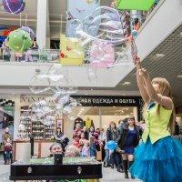 Шоу мыльных пузырей :: Игорь Юрченко