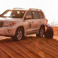 Сафари на джипах по пустыне :: Владимир Горубин