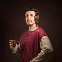 Портрет молодого человека с кубком :: Олег Дроздов