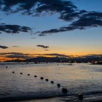 вечер в заливе :: Константин Шабалин