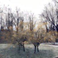 Раняя весна на Владимирской горке :: Владимир Бровко