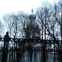 Одна из церквей Смольного собора. :: Светлана Калмыкова