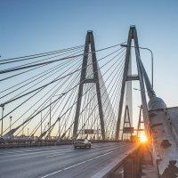 Вантовый мост на рассвете :: Frol Polevoy