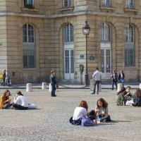 Студенты Париж :: Владимир Леликов