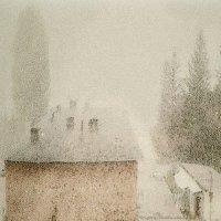 Март. Туман :: Григорий Кучушев