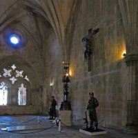Почетный караул в монастыре Баталья :: ИРЭН@ Комарова