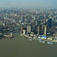 Шанхай с высоты птичьего полета :: spm62 Baiakhcheva Svetlana